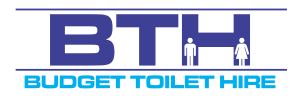Logo - Budget Toilet Hire Portable Toilet Hire, Shower Hire, Temporary Fencing Hunter Valley Newcastle Central Coast Events Construction Commercial Rent A Portaloo Hire